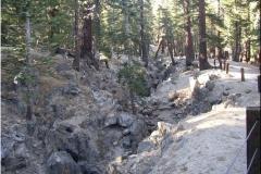 13 Mammoth Erdbebenspalte - 2