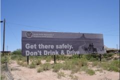 7 III-Hwy 160 Don´t drink and drive