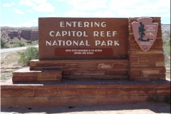 8 IV-Hwy 24 Capitol Reef NP - 1