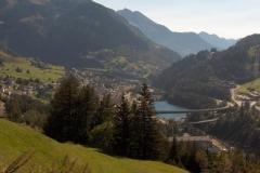 K1024_Tag3-2 Blick auf Airolo am St. Gotthard (CH)