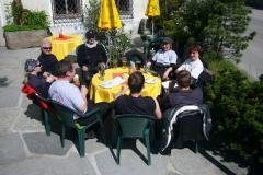 K1024_2.Mai 27-Kaffeepause in Waldhausen im Strudengau