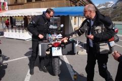FR 12-Pause am Silvretta-Stausee