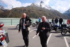 FR 13-Pause am Silvretta-Stausee