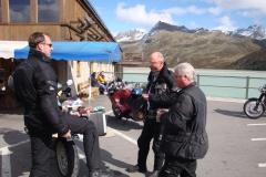 FR 14-Pause am Silvretta-Stausee