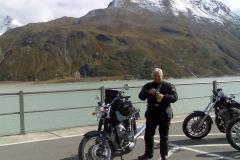 FR 19-Pause am Silvretta-Stausee