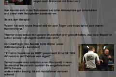 2012 Werkstattessen bei Harald Bericht