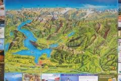K1024_177-Karte Vierwaldstättersee